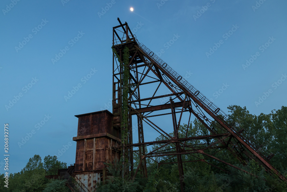 Fotografie, Obraz Abandoned Mine Shaft | Posters cz