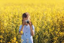 Portrait Of Little Boy Photogr...