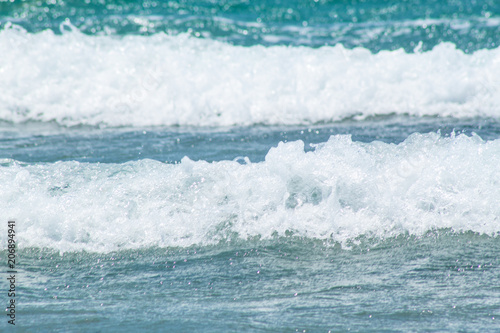 Foto op Plexiglas Water The sea and the waves