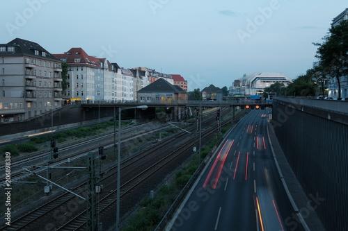 Zdjęcie XXL Ruch na A100 w Berlinie