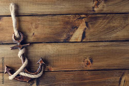 Vintage anchor Fototapete