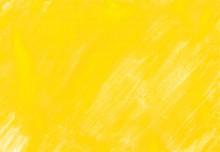 黄色の水彩絵の具塗っ...