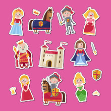 Fairytale Medieval Characters ...