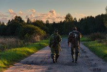 Two Hunters Go On An Evening Hunt