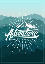 Adventure Vintage Poster