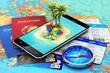Leinwandbild Motiv Travel, tourism, holidays and vacations concept