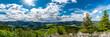 Aussicht über die Landschaft am Fuschlsee