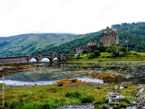 Plakat Szkocja Highlands, Eilean Donan Castle