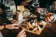 canvas print picture Wine bar