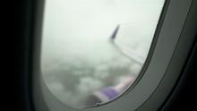 Passenger Airliner Flying In L...