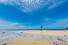 Tourist On Tioman Island Malaysia