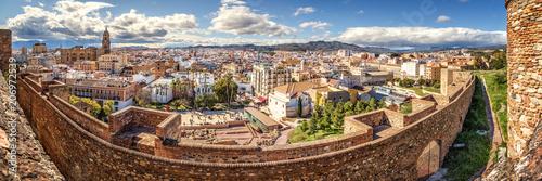 Málaga, View from Alcazaba, Spain