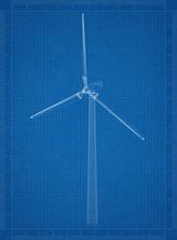 Wind Turbine Architect Bluepri...