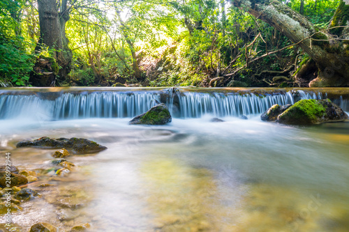 Photographie  little waterfall long exposure