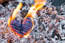 Heart Burns In The Fire. Woode...