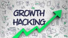Growth Hacking Drawn On White ...