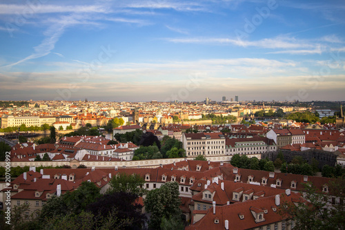 Fotografia, Obraz  City view of Prague