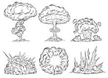 Bomb Explosion Mushroom Cloud ...