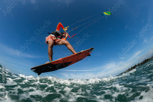 Kite surfer Wallpaper Mural