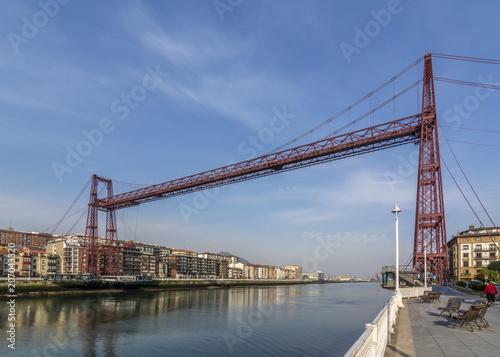 Puente colgante de Vizcaya, patrimonio de la humanidad, unesco