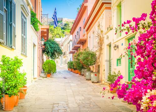 Ulica Ateny, Grecja