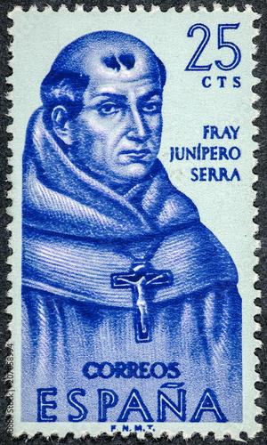 Franciscan friar San Junipero Serra Wallpaper Mural