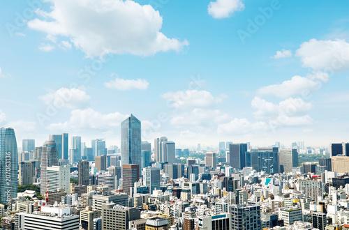 Fototapete - 都市風景 東京