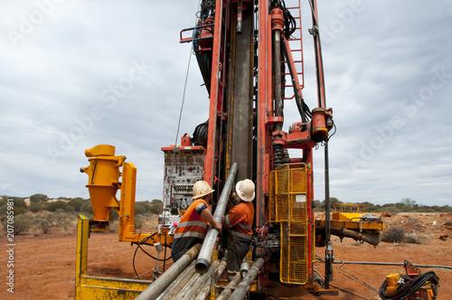 Fotografie, Obraz  Core Drilling for Exploration - Pilbara - Australia