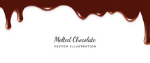 Dripping Melted Chocolate