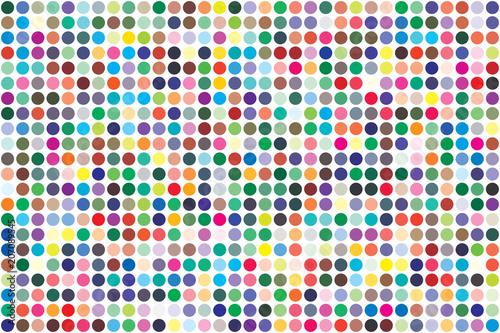 Pinturas sobre lienzo  Vector color palette