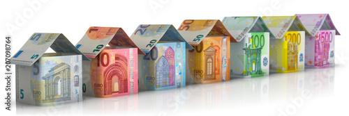 Fotografia, Obraz  Immobilien & Geld
