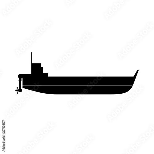 Fotografia  Self propelled barge