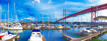 Portugal.Puente Del 25 De Abri...