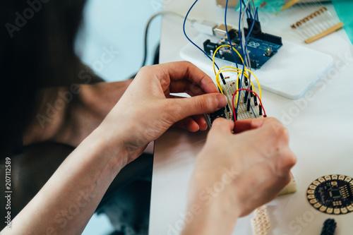 Informatiker beim Arbeiten