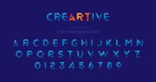 Original Font In Blue Colour F...