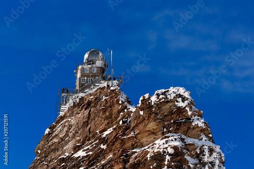 The Sphinx Observatory Switzerland  - Buy this stock photo