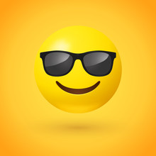 Smiling Face With Sunglasses E...