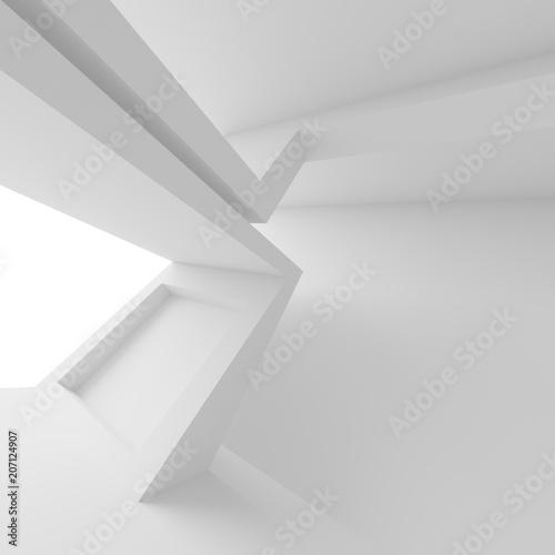 bialy-pokoj-z-oknem-nowoczesna-architektura