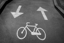 Reserved Lane For Bicycles