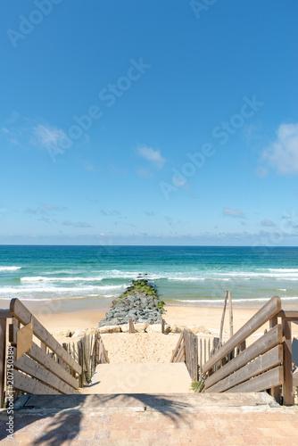 LACANAU (océan Atlantique, France), plage principale
