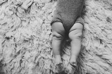 Black And White Chunky Baby Legs