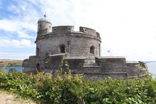 Ancient St Mawes Castle In Car...