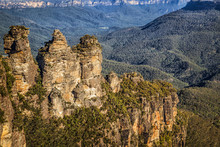 Three Sisters Rock Formation, ...