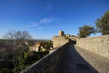 Medieval Fortress Wall, Trujillo, Caceres, Extremadura, Spain