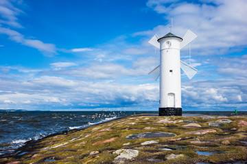 Pristanište na baltičkoj obali u Swinoujscie, Poljska