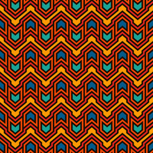 Seamless Pattern With Arrows A...
