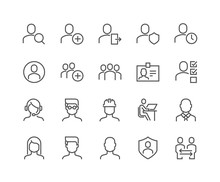 Simple Set Of Users Related Ve...