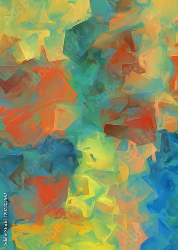 Fototapety, obrazy: Abstract texture background. Good for printed pictures, postcards, posters or covers and printing on ceramics. Pattern for creative design work. Colorful artistic wallpaper. Blurred gradient artwork.