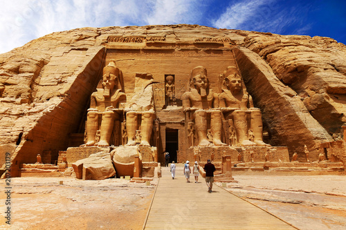 Abu Simbel, Egypt Canvas Print