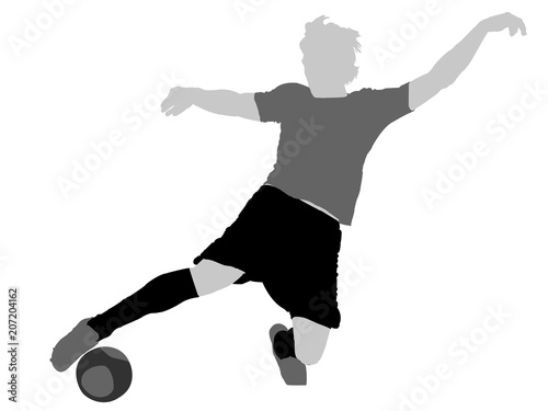 Poster  Football Player (neutral)